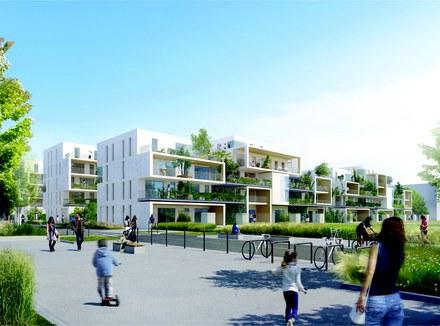 Métropole de Lyon : l'émergence d'un nouveau quartier mixte à Villeurbanne