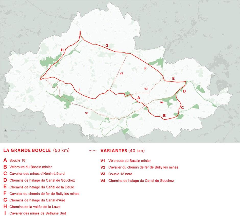 Pôle métropolitain de l'Artois : la chaîne des parcs double de surface