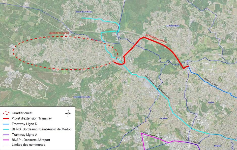 Bordeaux Métropole : interrogations sur la desserte de l'ouest de l'agglomération