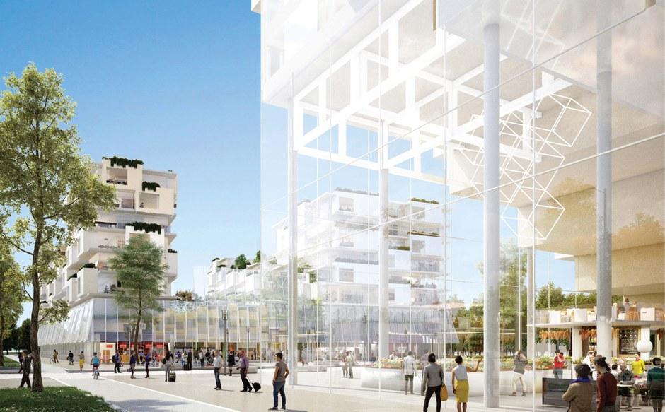 Aulnay-sous-Bois : un immeuble innovant connexe à la future gare du Grand Paris Express