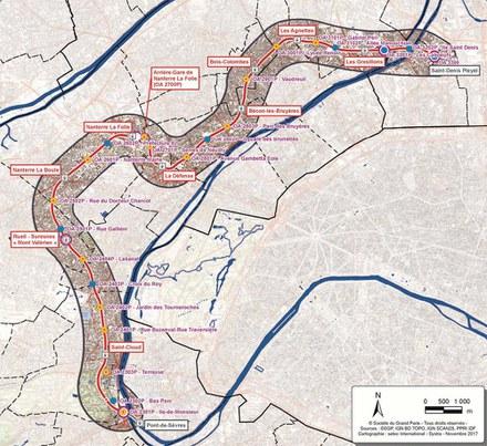 Grand Paris Express  : le projet final de la ligne 15 ouest