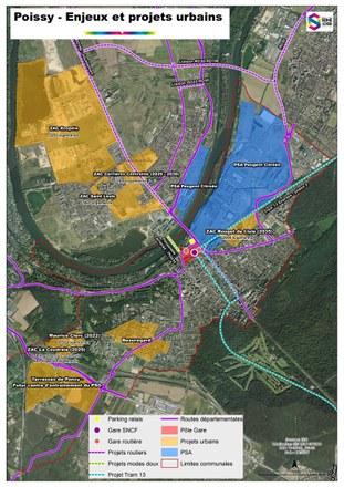 Grand Paris Seine & Oise prépare l'arrivée du RER E à Poissy et à Mantes-la-Jolie