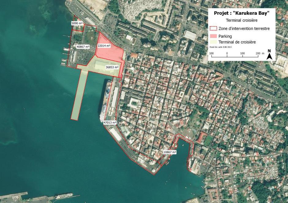 Guadeloupe : un nouveau terminal de croisière à Pointe-à-Pitre