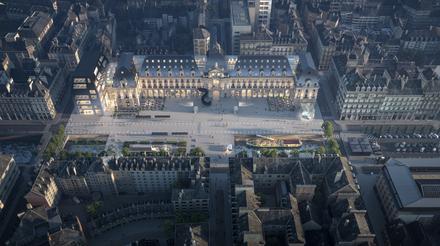Rennes : le palais du commerce est attribué au groupement Frey/MVRDV