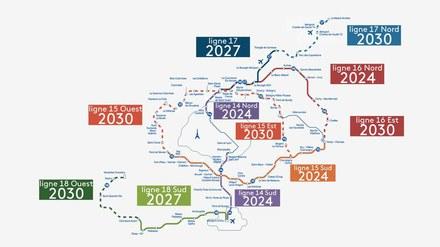 Grand Paris Express : lancement des acquisitions foncières pour la ligne 18
