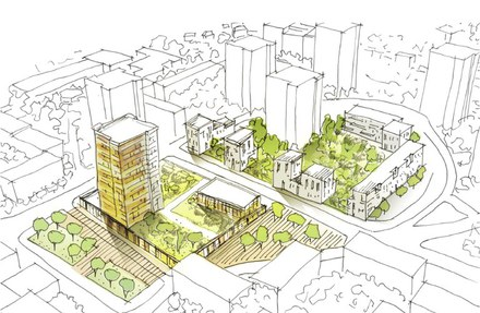Nanterre veut marier ambiances et luminosité, mobilités et logistique urbaine aux Fontenelles