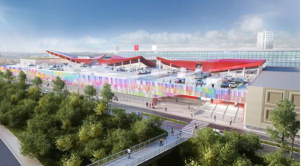 Cergy : appel à projet pour imaginer un rooftop original sur les 3 Fontaines