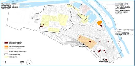 Mantes-la-Jolie : une OPAH-RU pour le centre-ville
