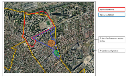 Hauts-de-Seine : le groupement Debarre Duplantiers Associés comme ensemblier urbain pour le renouvellement des quartiers sud d'Asnières