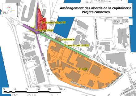 Strasbourg : assurer la liaison entre le port et la ville