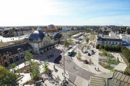 Saint-Brieuc : Le pôle d'échanges multimodal comme starter du quartier de gare