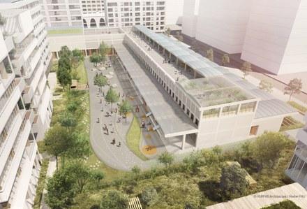 Lyon Confluence  : Vurpas Architectes retenu pour la Halle C3