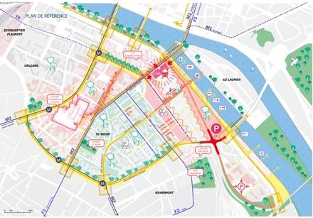 Rouen : le projet urbain de la gare Saint-Sever se prépare sans attendre