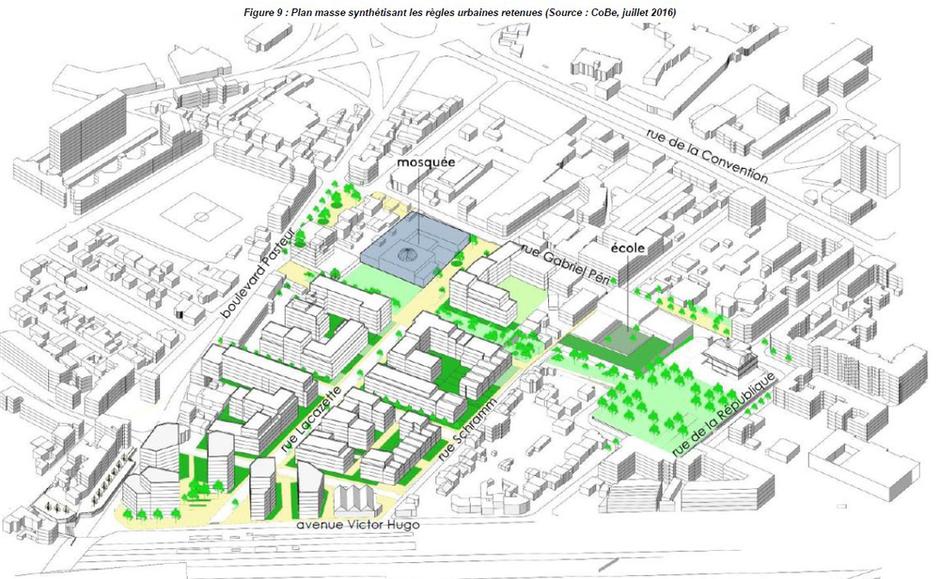 La Courneuve : charge à l'équipe de CoBe d'installer des logements et des commerces sur la friche KDI