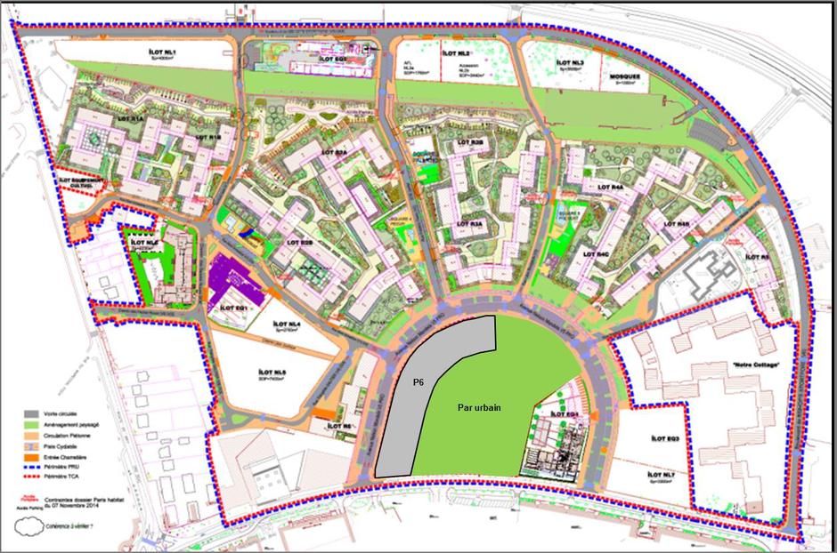 Val-de-Marne : un parc pour finir le renouvellement des Hautes-Noues à Villiers-sur-Marne