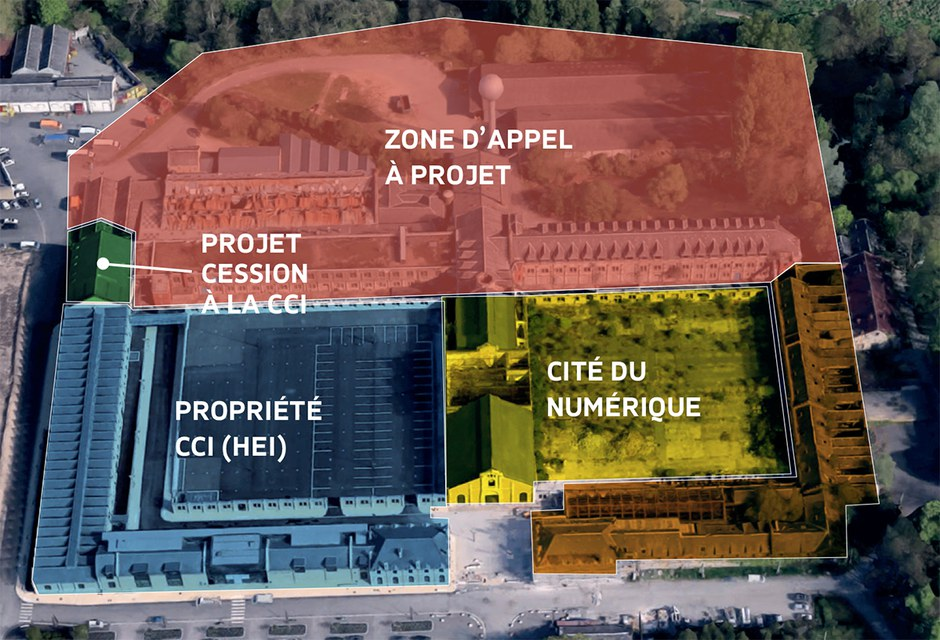 Chateauroux Appel à Projet Balsan séparation sites