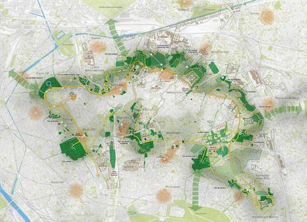 L'agence TER est chargée du dessin du futur Parc des Hauteurs