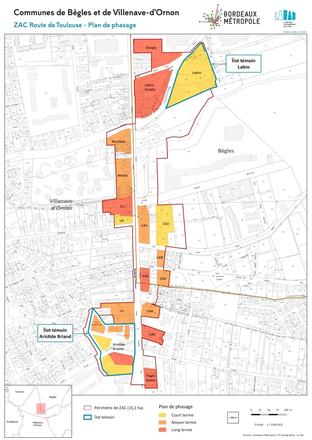 Bègles : la ZAC de la Route de Toulouse se déploie le long du tram