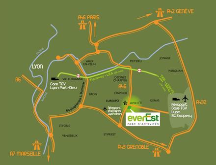 Rhône : l'acte 2 du parc d'activités EverEst de Genas est enclenché