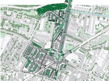 La Courneuve : TVK et OLM maîtres d'œuvre pour les Six Routes, le choix de la cohérence