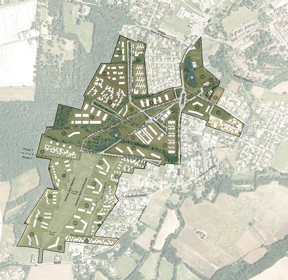Toulouse Monges Croix du Sud Plan Masse.png
