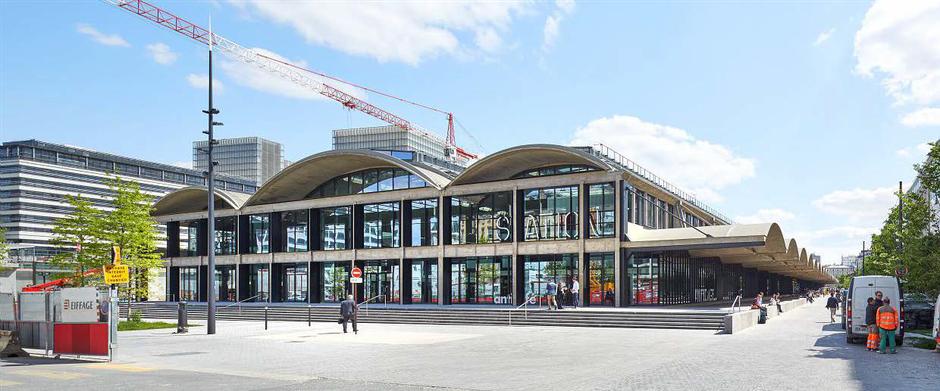 Paris Rive Gauche : derniers travaux d'espaces publics sur le secteur T9