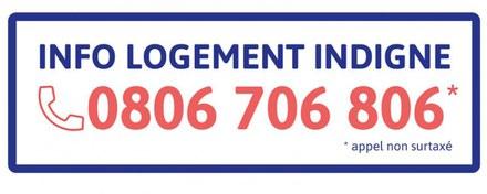Logement indigne – Création d'un numéro d'appel téléphonique