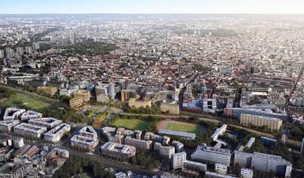 Paris porte de Montreuil C40 Nexity Atelier Georges perse générale