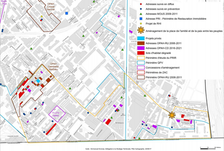 Saint-Ouen : la Soreqa cherche un architecte-coordonnateur pour éradiquer les poches d'habitat dégradé de Rosiers-Debain