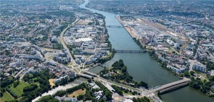 """Nantes/Rezé : les """"cinq pas de côté"""" du groupement conduit par Obras sur la ZAC de Pirmil - Les Isles"""