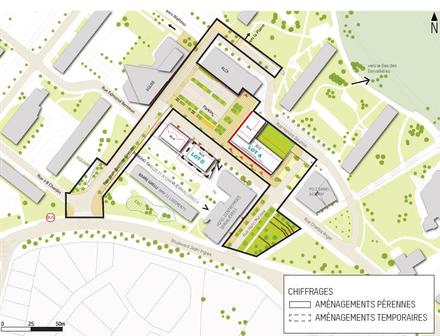 Nantes : faire aboutir la place des Dervallières main dans la main avec les habitants