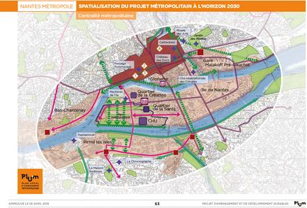 Nantes Métropole : Artelia Ville et transports va articuler les nombreux projets en cours
