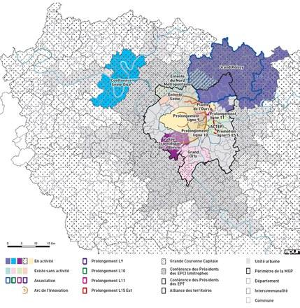 IdF Réforme territoriale Coopérations Souples