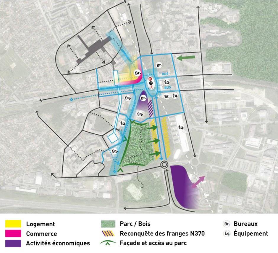 Noisy-Champs : les urbanistes du pôle gare du Grand Paris Express sont choisis