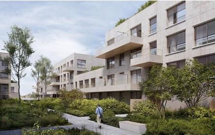 Cathrin Trebeljahr 36 logements pour Haute-Savoie Habitat à Annemasse