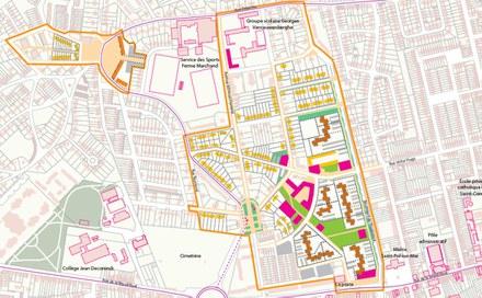 Saint-Pol sur Mer quartier Ouest typologie des logements CROPED