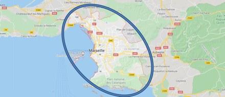 Poste Immo plateforme industrielle Marseille périmètre de recherche CROPED