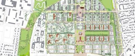 Neuilly-sur-Marne ZAC Maison Blanche Plan général d'aménagement Ateliers Lion CROPED