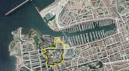 Marseille Entrecasteaux Saint-Nicolas aérien CROPED