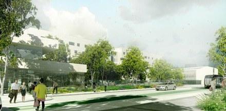 Paris / porte de la Chapelle : le projet de campus Condorcet ouvert au public jusqu'au 10 juillet
