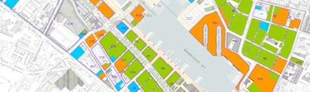 Bordeaux Bassins à Flot carte suivi des projets juin 2020 CROPED