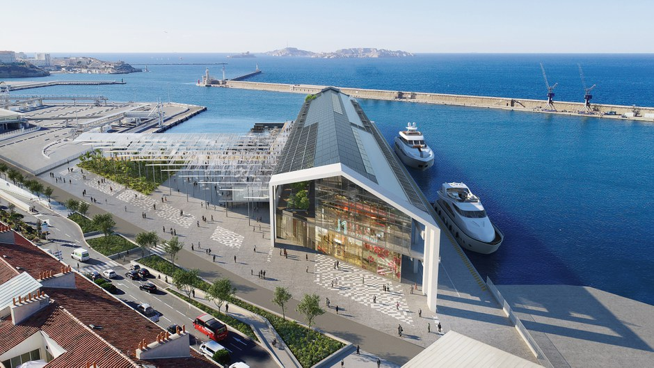 """Marseille/Euroméditerranée: """"La Passerelle"""", le projet pour achever la reconquête du port, est acté"""