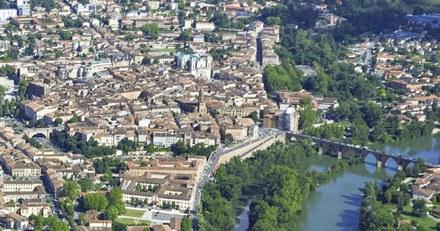 A Montauban, faire rentrer le paysage du Tarn dans la ville