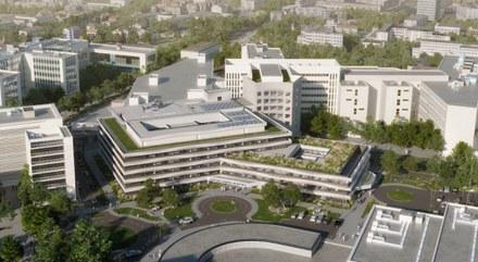 Architecturestudio remporte l'extension du CHU de Clermont-Ferrand