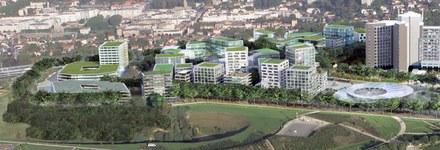 ZAC Campus Grand Parc à Villejuif : la nouvelle municipalité veut verdir le projet