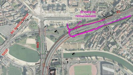La Driea Île-de-France avance sur l'insertion des échangeurs automobiles à Pleyel