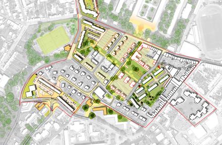 Cherbourg quartier des Horizons plan guide Une Fabrique Urbaine version février 2021 PLAN DSE MASSE