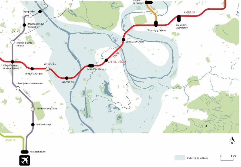 Grand Paris Express : la SGP ajoute son propre programme au projet connexe à la gare Créteil L'Échat