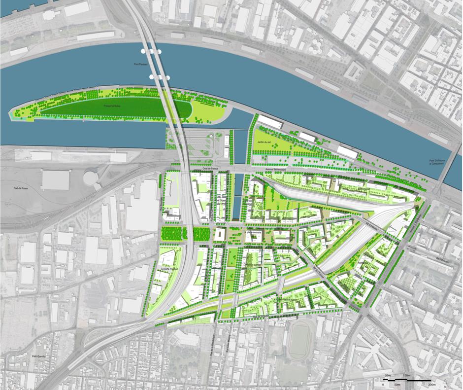 Rouen : la ZAC Flaubert se réécrit à l'aune des crises industrielle, sanitaire et écologique
