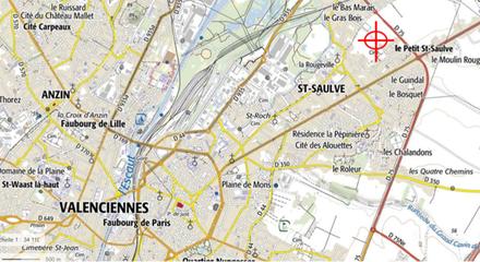 VM St saulve localisation.png